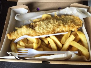 Fish & Chips from Fish and Chips Vagninn in Reykavik!