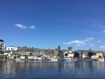This is the the town of Athlone.