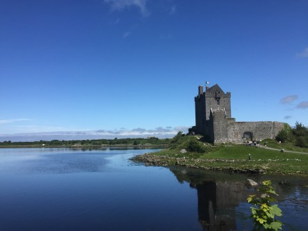 This is Dunguaire Castle.
