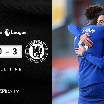 Burnley 0-3 Chelsea Final Score