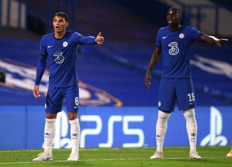 Thiago Silva has instilled confidence in his fellow Chelsea defenders, like Kurt Zouma.