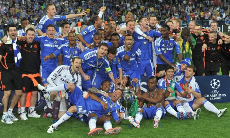 The greatest night for Chelsea football fans.