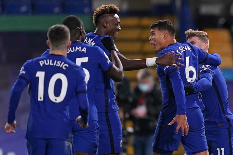Thiago Silva and Tammy Abraham were among the goals as Chelsea sealed a 3-0 win over London rivals West Ham. Credit | POOL/AFP via Getty Images