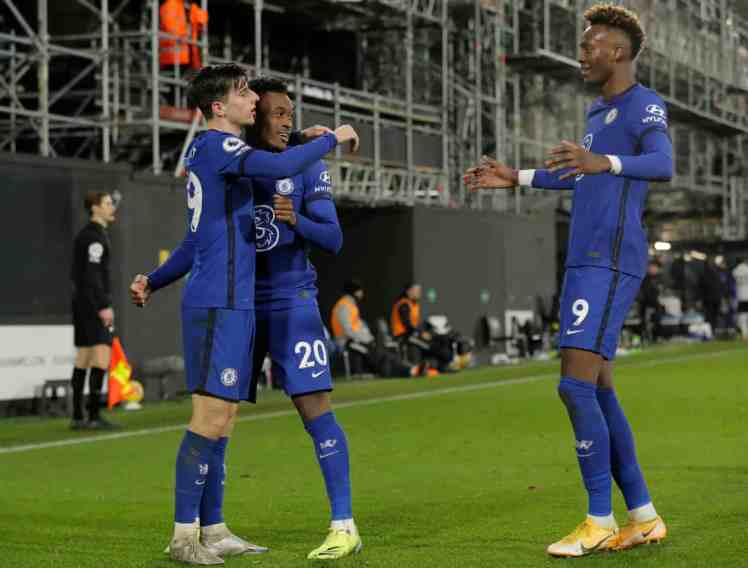 Hudson-Odoi and Abraham were positive when coming on against Fulham. Credit | Tom Jenkins/NMC Pool/The Guardian