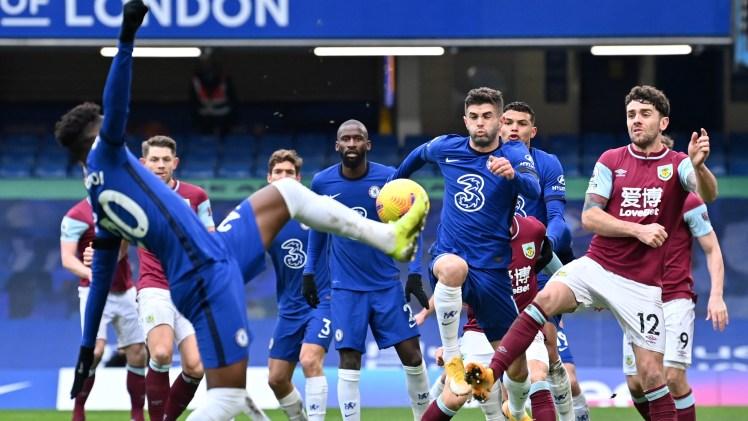 Callum Hudson-Odoi was MOTM in Chelsea 2-0 Burnley.
