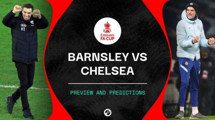 Barnsley v Chelsea in the 5th round of the FA Cup. Credit | Squawka