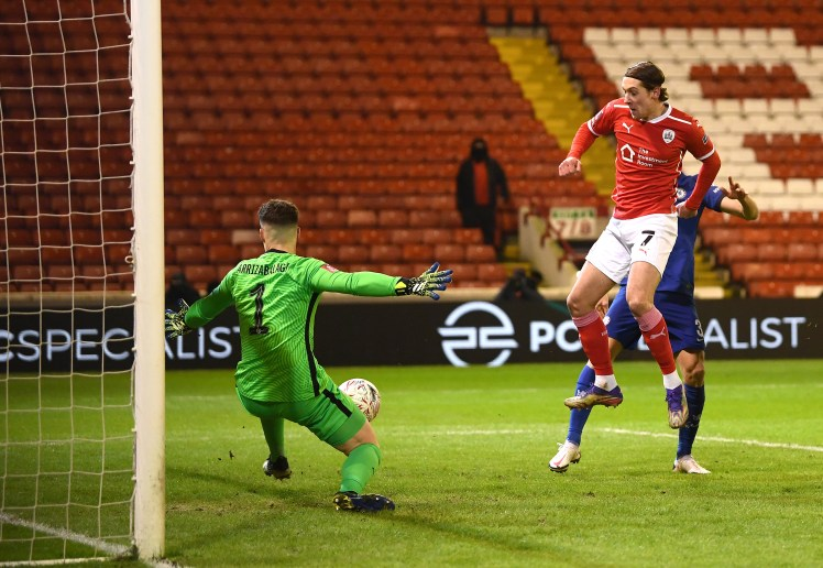 Kepa played well at Oakwell.