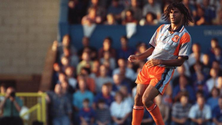 Ruud Gullit announced himself earlier in the season with a debut goal against Southampton.