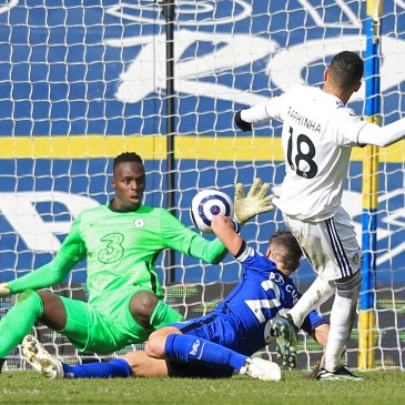 Mendy helped the Chelsea defence keep another clean sheet against Leeds United