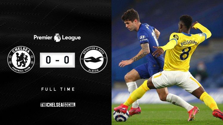 Chelsea 0-0 Brighton Final Score Edit.