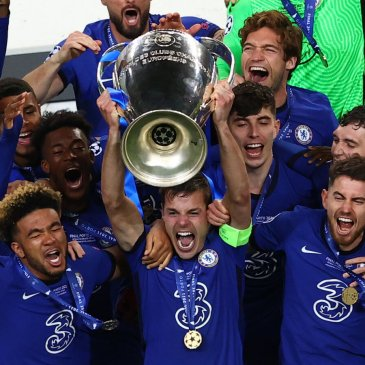 Chelsea, champions of Europe once more. REUTERS/Pierre-Philippe Marcou - UP1EH5T1N5AMW