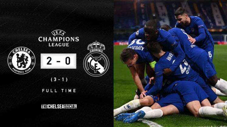 Chelsea 2-0 Real Madrid Full Time Edit.
