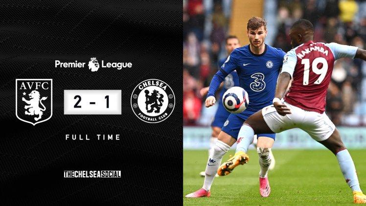 Aston Villa 2-1 Chelsea Final Score Edit.
