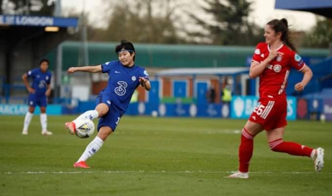 Ji So-Yun restores Chelsea's lead on the night.