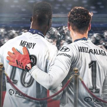 Kepa was in goal against Tottenham after an injury to Edouard Mendy. Edit by Kepa was in goal against Tottenham after an injury to Edouard Mendy. Edit by @harrywicks123