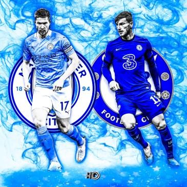 Man City v Chelsea @hayleydesign_