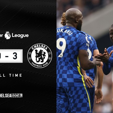 Chelsea go top of the league after a brilliant second half against Tottenham. Edit by @Pabloedition