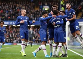 Chelsea against Burnley at Stamford Bridge