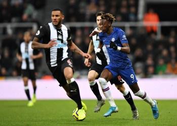 Tammy Abraham against Newcastle United