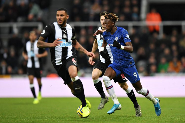 Tammy Abraham against Newcastle United