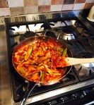 One pan of spicy delights