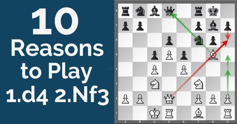 10 Reasons to Play 1.d4 2.Nf3 System