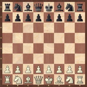 rules of chess - setting up chess pieces