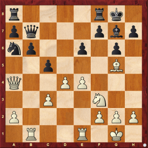 Passed Pawns in Middlegames: Kasparov-Pribyl diagram 1