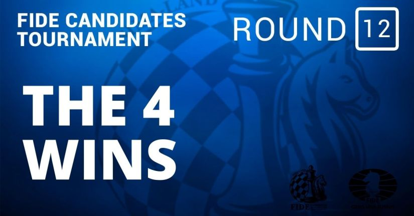 Fide Candidates Tournament – The 4 Wins: Round 12