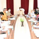 Meals Minister Shri Amarjit Bhagat critiques departmental work