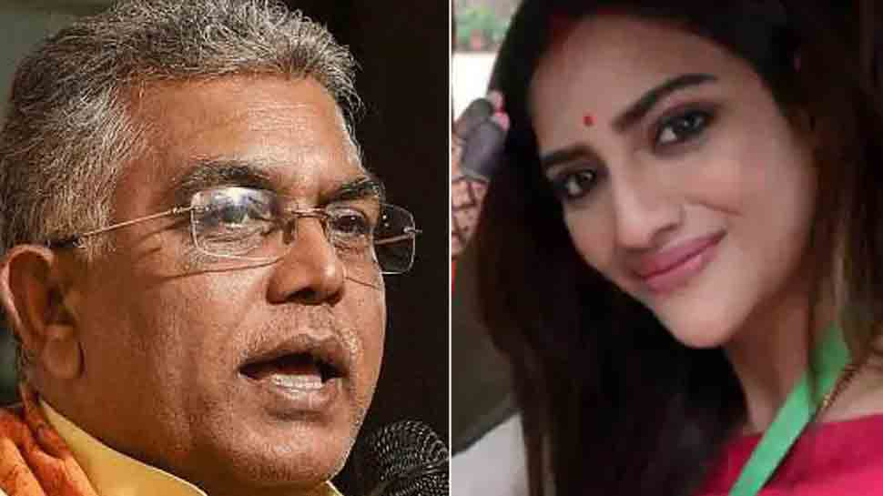 Fraud! Dilip Ghosh asks how Nusrat Jahan wore sindoor being unmarried