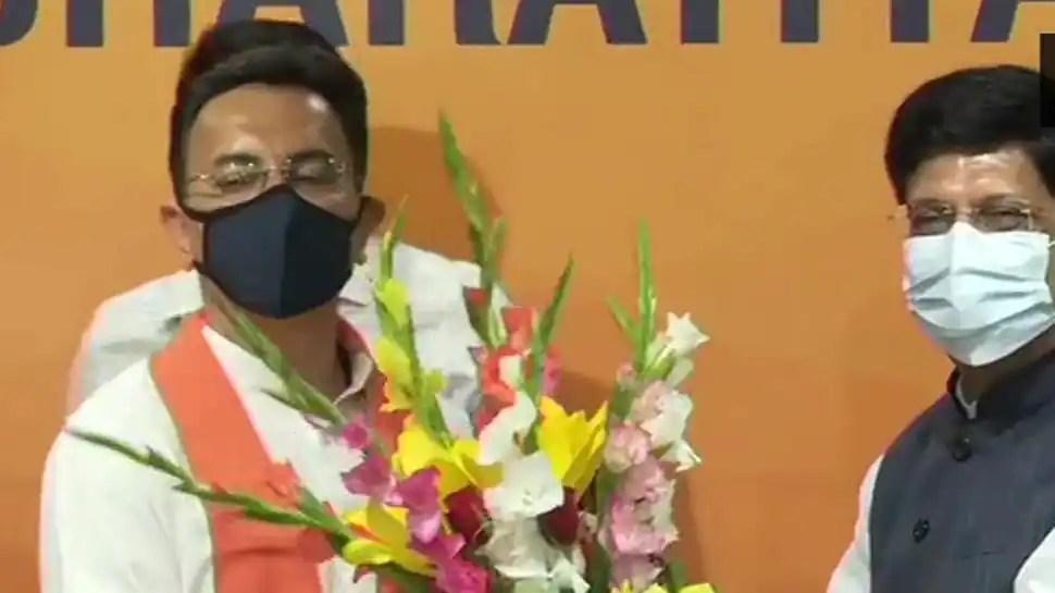 Jitin Prasada, close aide of Rahul Gandhi and senior Congress leader, joins BJP