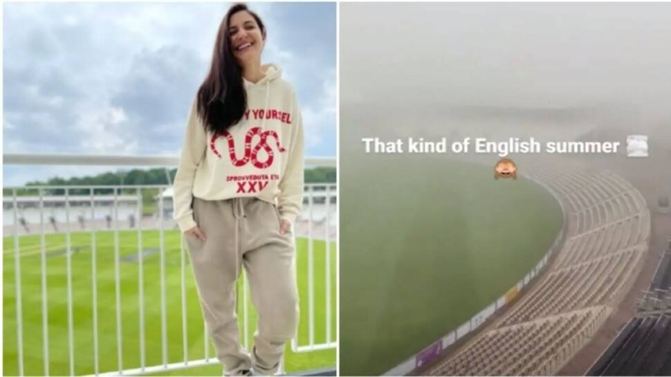Virat Kohli's wife Anushka Sharma gives weather update from Southampton ahead of WTC final - check out