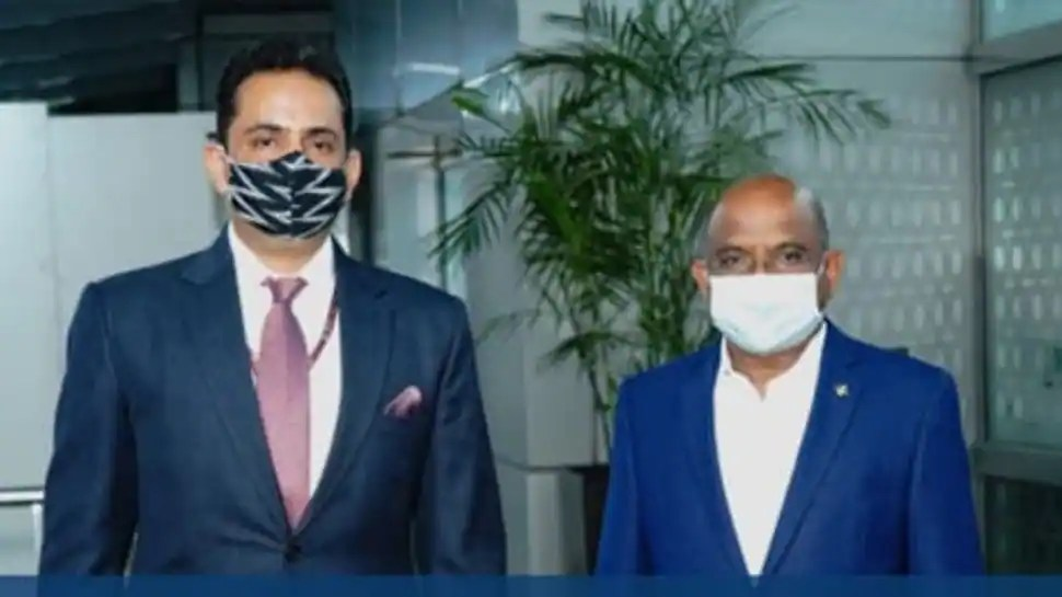 Abdulla Shahid visits India in his first foreign visit as UNGA President