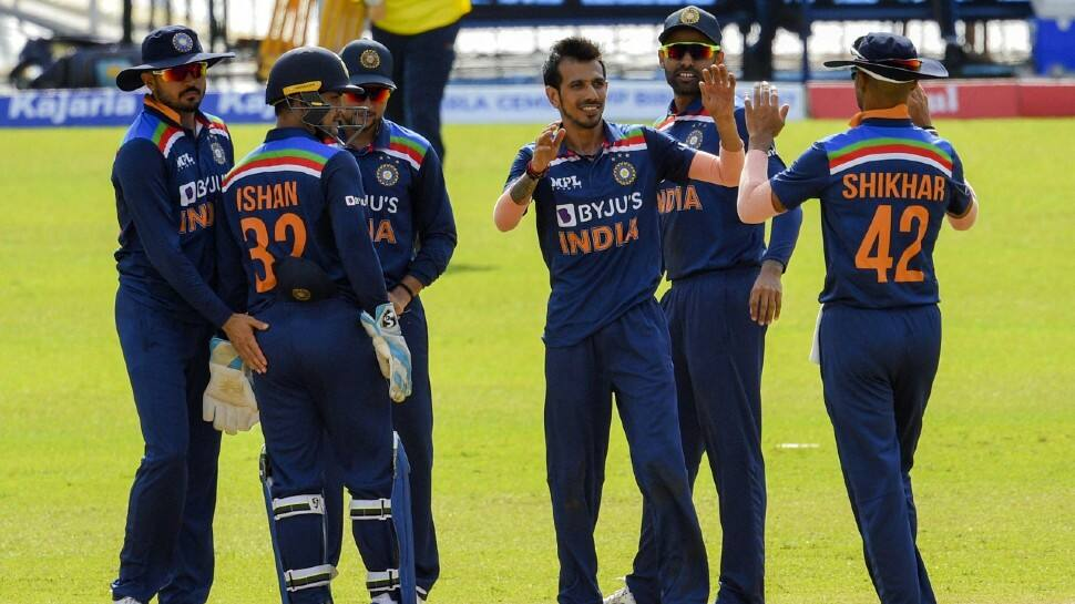 India vs Sri Lanka 2nd ODI: Yuzvendra Chahal, Bhuvneshwar Kumar bag three wickets each as hosts post battling total
