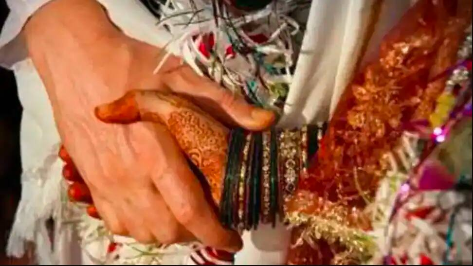 Interfaith marriage ceremony, with a viral wedding card, held after being called off in Nashik