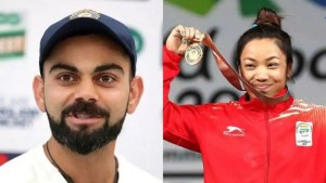 Tokyo Olympics 2020: Virat Kohli congratulates Mirabai Chanu with a special video message – WATCH