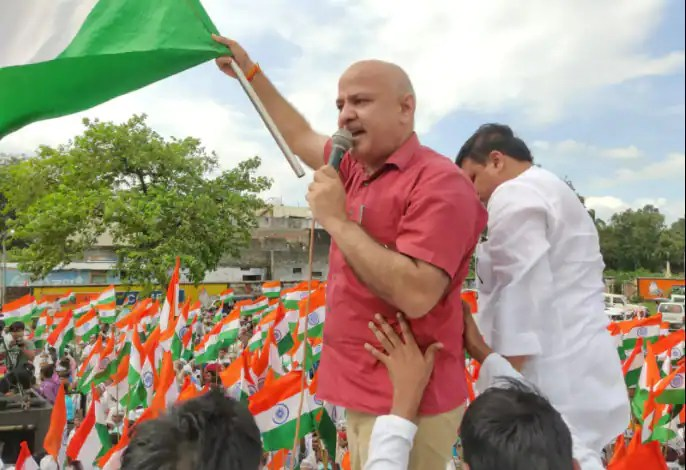 Arvind Kejriwal only Chief Minister in India who is running the government following the ideals of Shri Ram: Manish Sisodia