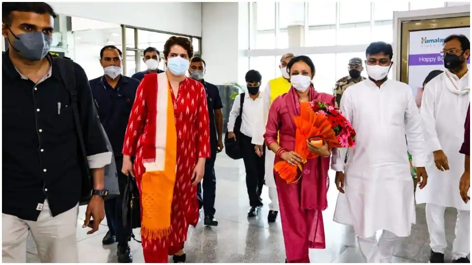Priyanka Gandhi on two-day Lucknow visit with eye on 2022 UP Assembly polls