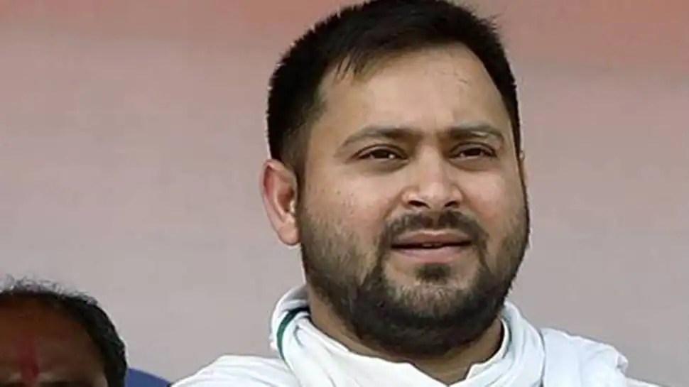 RJD's Tejashwi Yadav caught on camera distributing money ahead of Panchayat polls, probe ordered
