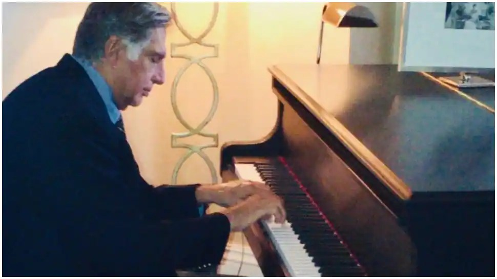 Ratan Tata shares pic of himself playing piano, netizens call him 'all rounder'