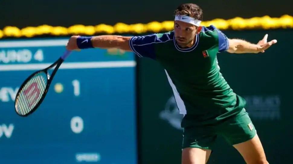 BNB Paris Open: Grigor Dimitrov stuns US Open champion Daniil Medvedev