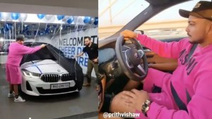 DC opener Prithvi Shaw gifts himself a swanky BMW car after IPL 2021, pics go VIRAL