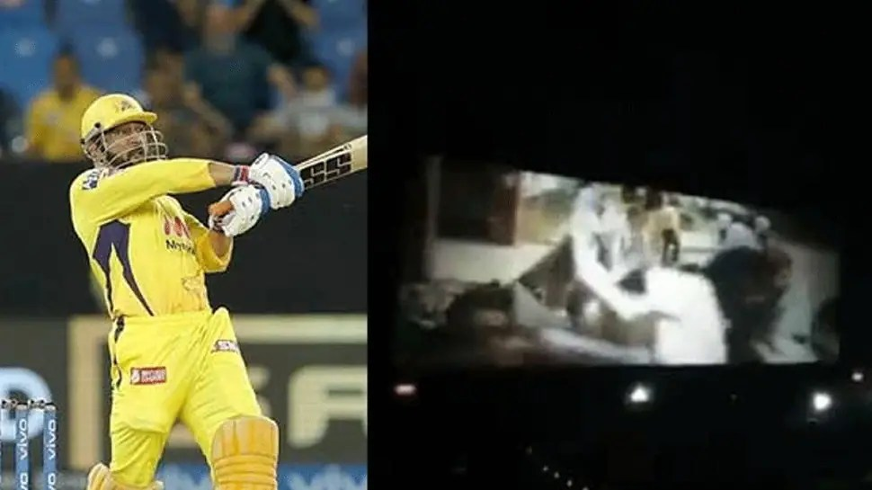 IPL 2021: Fans chant MS Dhoni's name in MOVIE HALL after CSK skipper's heroics against DC, video goes viral – WATCH