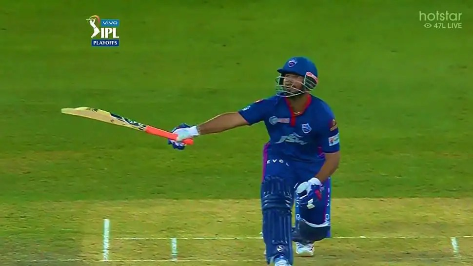 IPL 2021: Rishabh Pant smashes one-handed six, CSK need 173 to win