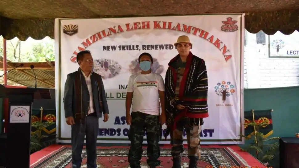 In a first, Assam Rifles launched skill development centre at SOO camp in Manipur