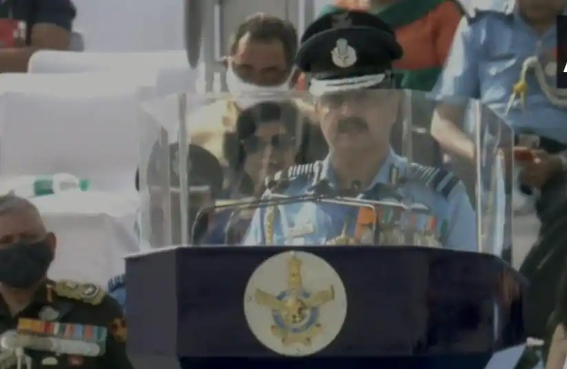 Indian Air Force's prompt actions in eastern Ladakh testament to its combat readiness: Air Chief Marshal VR Chaudhari