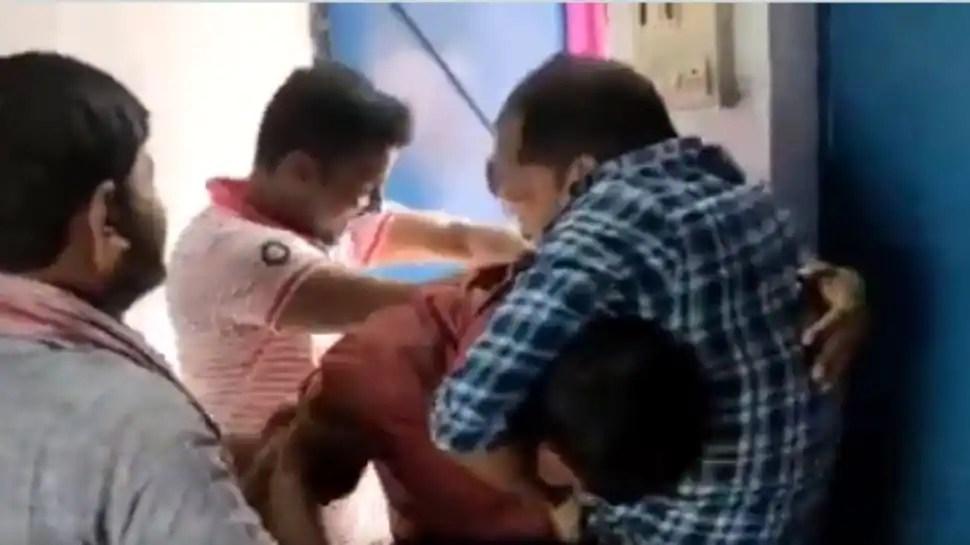 Men engage in violent brawl over school principal's post in Bihar- Watch