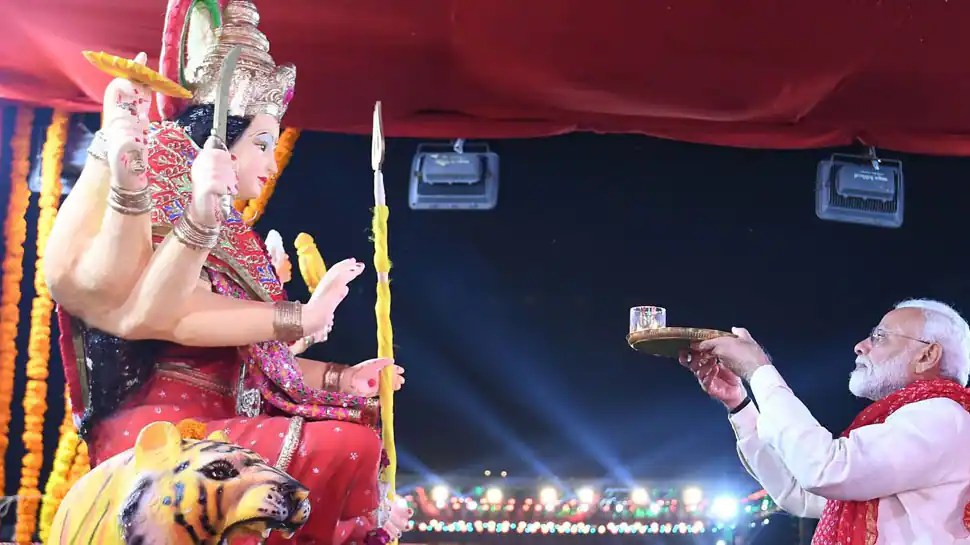 Navratri 2021: PM Narendra Modi, top leaders extend greetings, pray for good health and prosperity of Indians