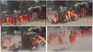 One killed, 16 injured as speeding car mows down devotees in Chhattisgarh